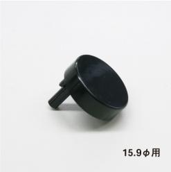 ABSバナーパイプ ABS-R159用 キャップ ブラック