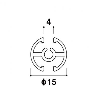 【カット/バーのみ】タペストリーバーF15 シルバー (B+J+C)_A